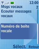 Nokia 3110 classic - Messagerie vocale - configuration manuelle - Étape 6