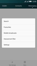 Huawei Y635 Dual SIM - SMS - Manual configuration - Step 4