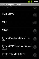 Alcatel OT-983 - Internet et roaming de données - configuration manuelle - Étape 14