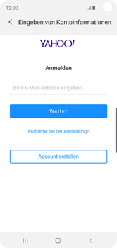 Samsung Galaxy S10e - E-Mail - 032b. Email wizard - Yahoo - Schritt 7