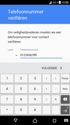 Sony Sony Xperia E5 - apps - account instellen - stap 8
