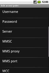 Samsung I7500 Galaxy - MMS - Manual configuration - Step 9