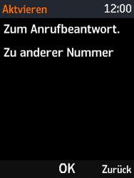Nokia 3310 - Anrufe - Rufumleitungen setzen und löschen - 8 / 12