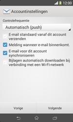 Sony D2005 Xperia E1 - E-mail - e-mail instellen: IMAP (aanbevolen) - Stap 16