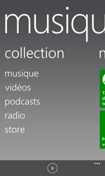 Nokia Lumia 1020 - Photos, vidéos, musique - Ecouter de la musique - Étape 4