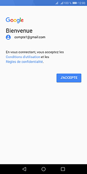 Huawei Y6 (2018) - E-mails - Ajouter ou modifier votre compte Gmail - Étape 12
