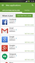 HTC One - Applications - Comment vérifier les mises à jour des applications - Étape 6