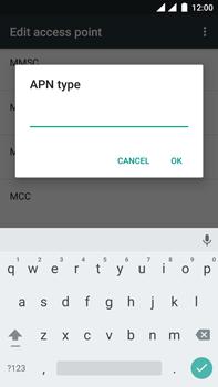 OnePlus 3 - internet - handmatig instellen - stap 13