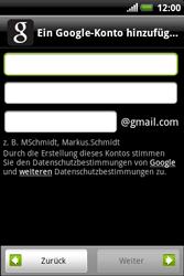 HTC Explorer - Apps - Konto anlegen und einrichten - 6 / 19