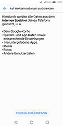 Huawei Y5 (2018) - Fehlerbehebung - Handy zurücksetzen - Schritt 8