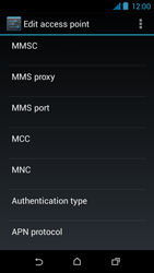 HTC Desire 310 - MMS - Manual configuration - Step 13