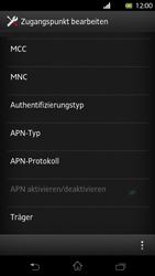 Sony Xperia T - Internet und Datenroaming - Manuelle Konfiguration - Schritt 13