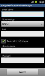 Samsung I8160 Galaxy Ace 2 - E-Mail - Konto einrichten - Schritt 12