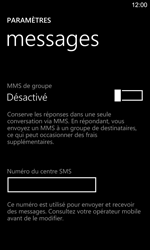 Nokia Lumia 925 - SMS - configuration manuelle - Étape 8