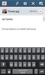 Samsung Galaxy S3 Lite (I8200) - E-mail - envoyer un e-mail - Étape 17