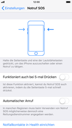Apple iPhone 6s - iOS 11 - Notfall – SOS - 4 / 7