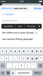 Apple iPhone 5s - E-Mail - E-Mail versenden - 9 / 16
