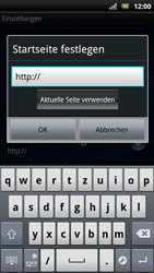 Sony Ericsson Xperia Arc S - Internet - Manuelle Konfiguration - Schritt 18