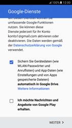Samsung Galaxy S6 - Apps - Konto anlegen und einrichten - 17 / 21