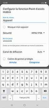 Samsung Galaxy A51 - WiFi - Comment activer un point d'accès WiFi - Étape 10