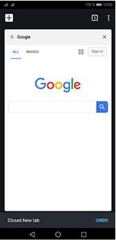 Huawei P20 Pro - Internet - Internet browsing - Step 17
