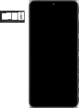 Huawei Y6P - Premiers pas - Insérer la carte SIM - Étape 4