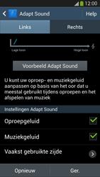 Samsung I9505 Galaxy S IV LTE - Adapt Sound - Adapt Sound instellen - Stap 13