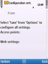 Nokia C5-00 - MMS - Automatic configuration - Step 4