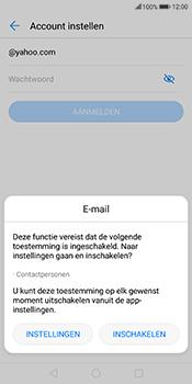 Huawei Mate 10 Lite - E-mail - handmatig instellen (yahoo) - Stap 5