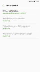Samsung G390F Galaxy Xcover 4 - Anrufe - Rufumleitungen setzen und löschen - Schritt 12