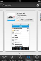 Apple iPhone 3GS - Apps - Installieren von Apps - Schritt 6