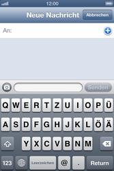 Apple iPhone 4S - MMS - Erstellen und senden - Schritt 6