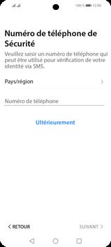 Huawei P Smart 2021 - Applications - Créer un compte - Étape 17