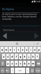 Huawei Ascend G6 - Apps - Konto anlegen und einrichten - 1 / 1