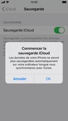 Apple iPhone SE - iOS 13 - Données - créer une sauvegarde avec votre compte - Étape 12