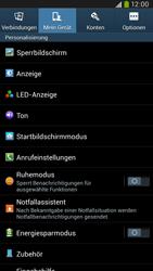 Samsung Galaxy Mega 6-3 LTE - Anrufe - Anrufe blockieren - 5 / 14