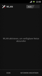 Sony Ericsson Xperia Ray mit OS 4 ICS - WLAN - Manuelle Konfiguration - Schritt 5