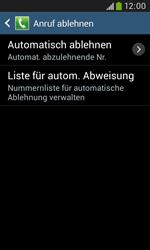 Samsung S7580 Galaxy Trend Plus - Anrufe - Anrufe blockieren - Schritt 7