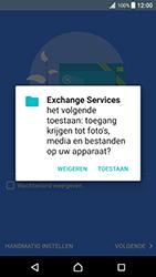 Sony Xperia XZ Premium - E-mail - Handmatig instellen - Stap 11