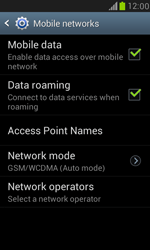 Samsung I8190 Galaxy S III Mini - Internet - Disable data roaming - Step 6