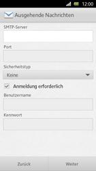 Sony Xperia U - E-Mail - Manuelle Konfiguration - Schritt 11