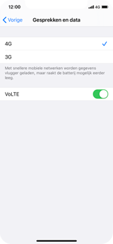 Apple iPhone 11 Pro - iOS 14 - internet - activeer 4G Internet - stap 7
