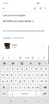 Samsung Galaxy S10 Plus - E-Mail - E-Mail versenden - Schritt 20