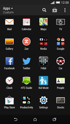 HTC One M8 - Applications - Setting up the application store - Step 3