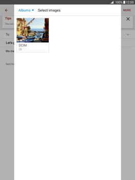 Samsung Galaxy Tab A 9.7 - E-mail - Sending emails - Step 16