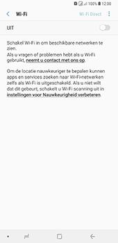 Samsung Galaxy A9 (2018) - wifi - schakel Wi-Fi Assistentie uit - stap 7