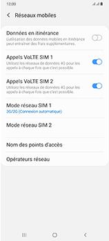 Samsung Galaxy A70 - Internet et connexion - Activer la 4G - Étape 6