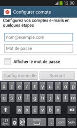 Samsung Galaxy Ace III - E-mail - configuration manuelle - Étape 5