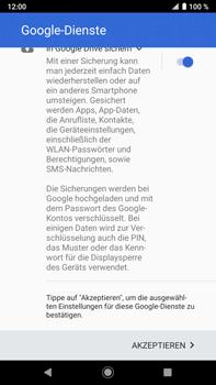Sony Xperia XZ2 Premium - Android Pie - Apps - Konto anlegen und einrichten - Schritt 20