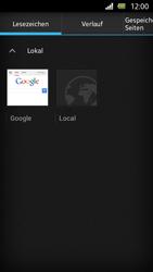 Sony Xperia U - Internet und Datenroaming - Verwenden des Internets - Schritt 10